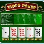 Как выиграть в видео покер?