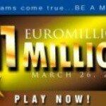 Джекпот лотереи EuroMillions достиг €111 млн