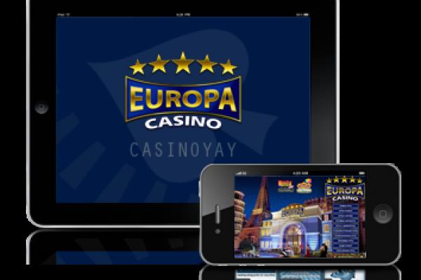 Казино Европа — Мобильное казино