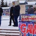 В Сибири протестуют против поправок в игорный закон