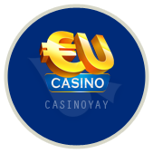 EUCasino логотип, онлайн казино, интернет казино