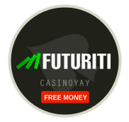 Futuriti Casino логтип, Futuriti казино логотип, Футурити онлайн казино