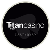 Titan Casino casino логотип, казино Титан логотип, лучшее казино