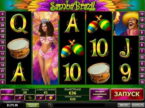 Samba-Brazil-Playtech