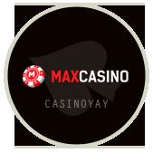Maxcasino логотип, Макс казино, онлайн слоты